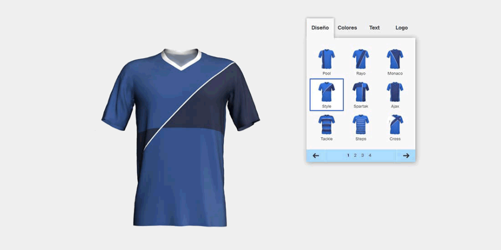 Derribar Vientre taiko moral  Camisetas de futbol Personalizadas 🥇 Diseño Confeccion y Modelos