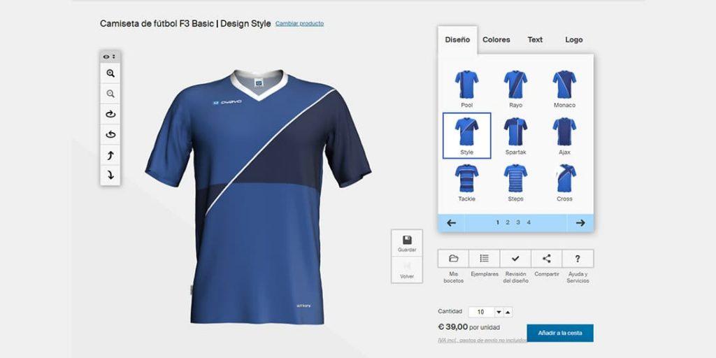 Gimnasta Velocidad supersónica Golpeteo  Diseño de Camisetas de Futbol 🥇 Programas y Páginas GRATIS
